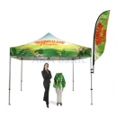Promotional folding tents
