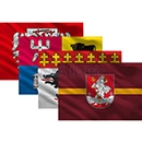Flags of cities and regions