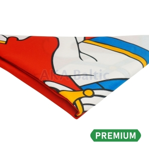 PREMIUM Historical flag of Lithuania with snap hooks 100x170