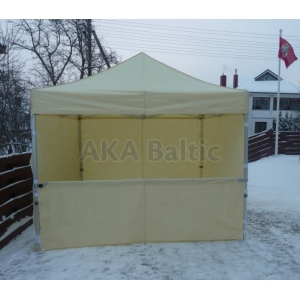 Folding tent bar construction 3m