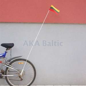 Bicycle flag with holder