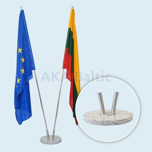 Indoor Flags Stand MARBLE