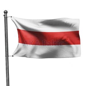 The White Red and White Flag