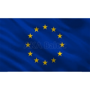 EU flag with eyelets 100x170 cm