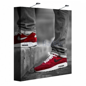 Pop Up banner stand straight