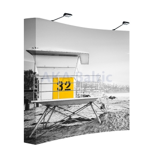 Pop Up banner Pop Up stand curve