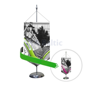 Table pennant flag STANDART Dual Sided