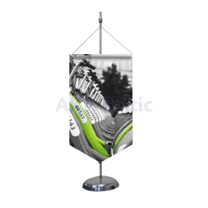 Table pennant flag STANDART One-sided
