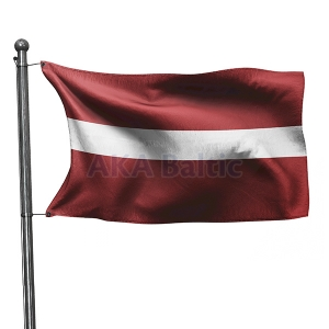Flag of Latvia 1x2