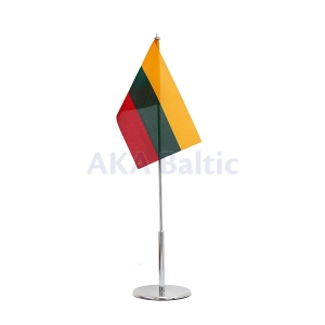Table flag of Lithuania 12x20cm