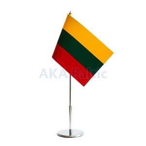 Table flag of Lithuania 15x25cm