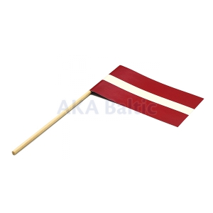 Paper flag of Latvia 10x17 cm H30