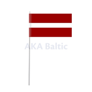 Paper flag of Latvia 12x22 cm H40
