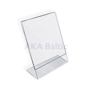 L Shaped Brochure Holder