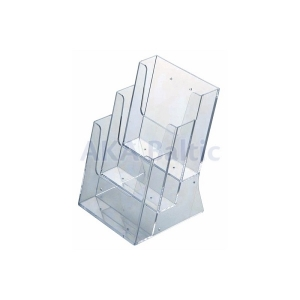 Three Sections Brochure Holder