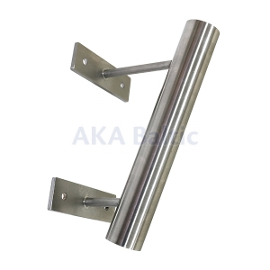 Single stainless steel bracket for flag pole 34