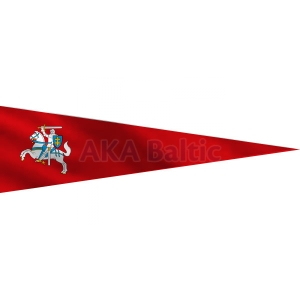 Lithuanian Historical pennant flag with snap hooks 50x200