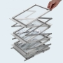 Brochure Holder ZIGZAG A3